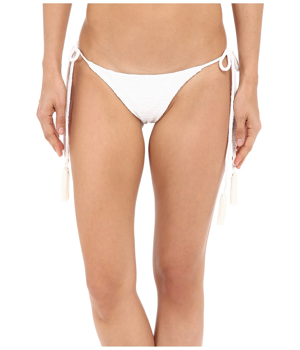 Beach Riot - Stone Cold Fox Ivy Bottom (White Texture) Women's Swimwear