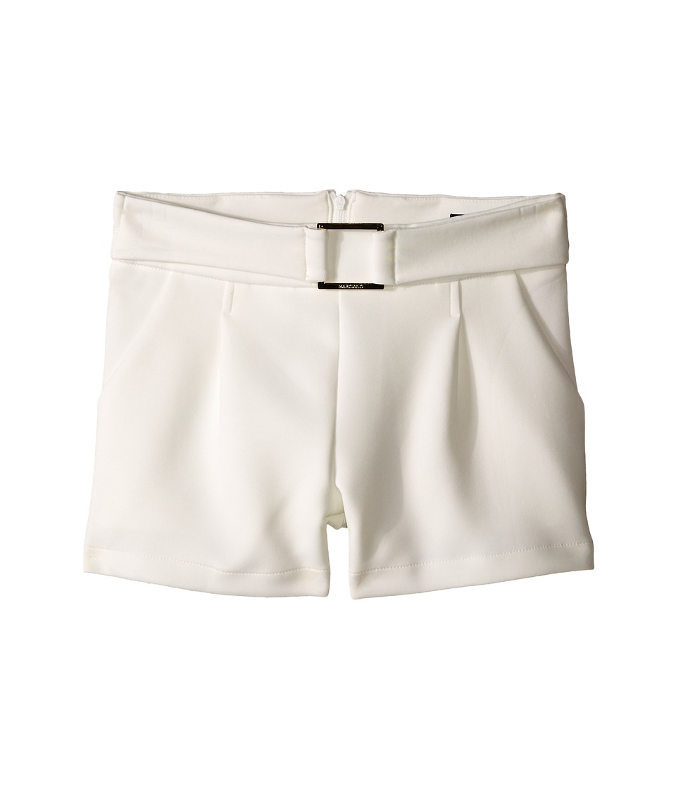 Marciano Kids - Celestine Ponte Shorts (Big Kids) (Off-White) Girl's Shorts