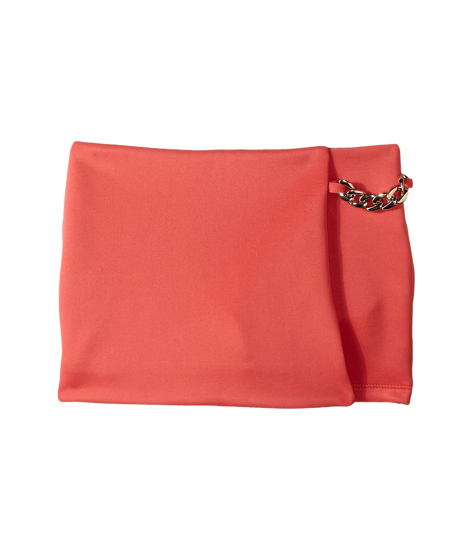 Marciano Kids - Scarlet Wrap Skort w/ Chain (Big Kids) (Coral) Girl's Skort