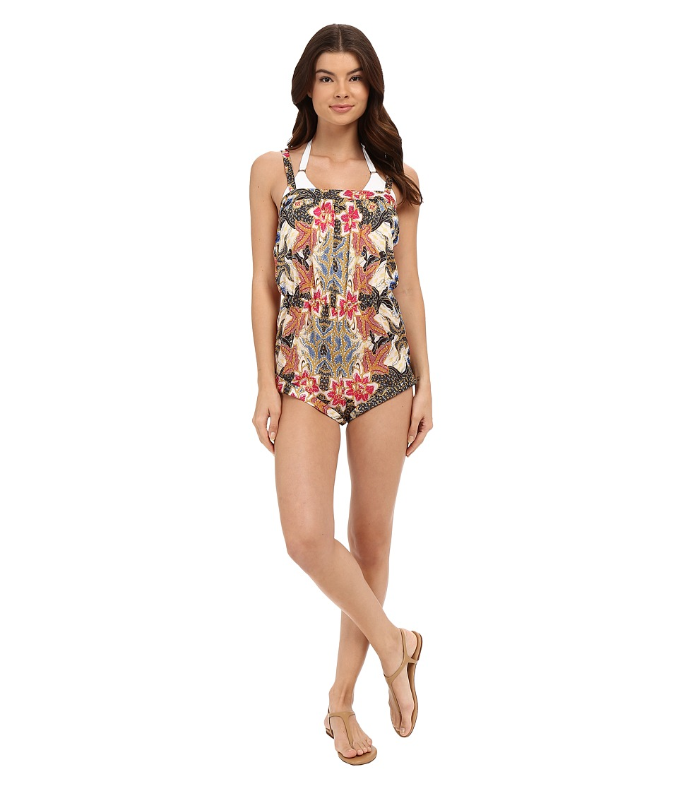 Beach Riot - Le Fleur Marbella Romper Cover-Up (Le Fleur) Women's Jumpsuit & Rompers One Piece