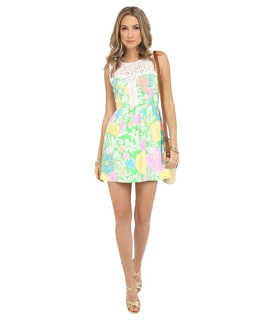 Lilly Pulitzer - Raegan Dress (Multi Hibiscus Stroll) Women's Dress