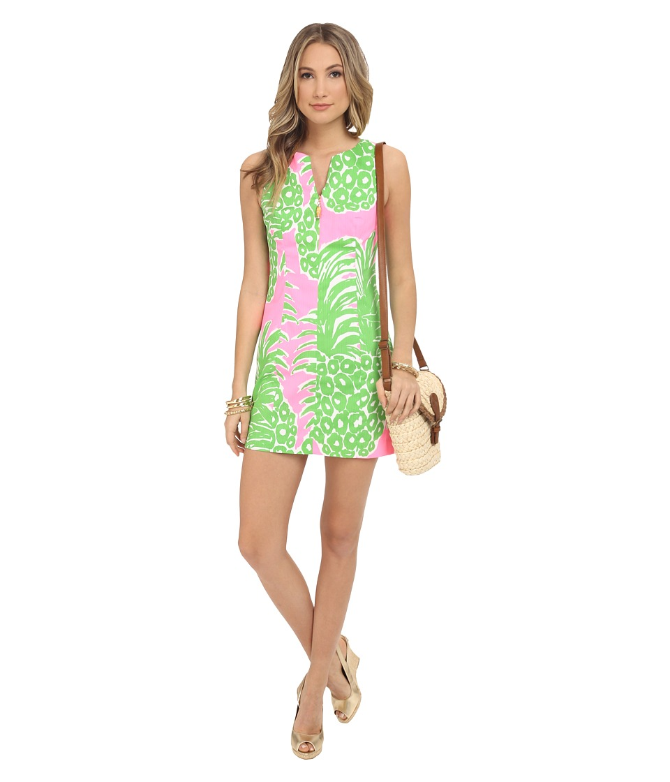 Lilly Pulitzer - Mila Shift Dress (Pink Pout Flamenco) Women's Dress