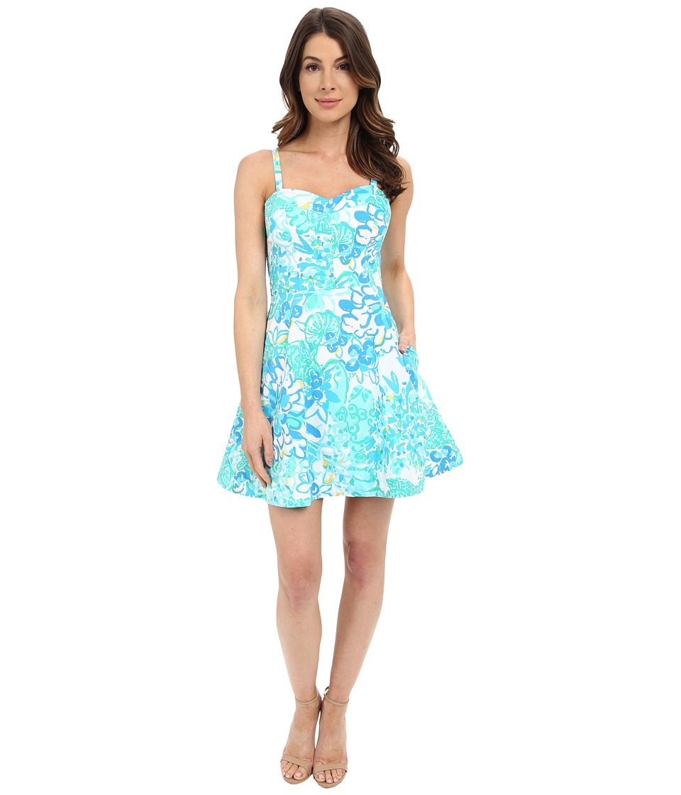 Lilly Pulitzer - Willow Dress (Resort White In A Pinch) Women's Dress