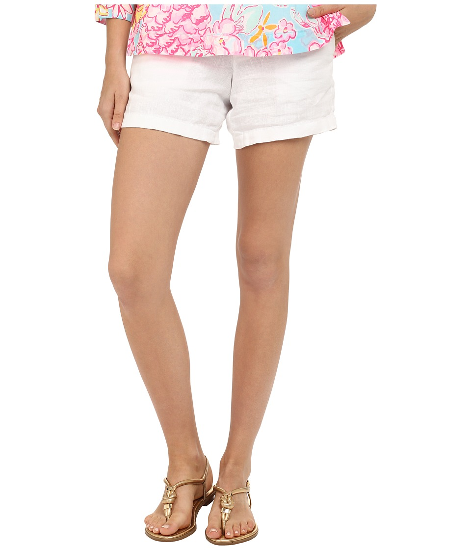 Lilly Pulitzer - Calla Shorts (Resort White) Women's Shorts