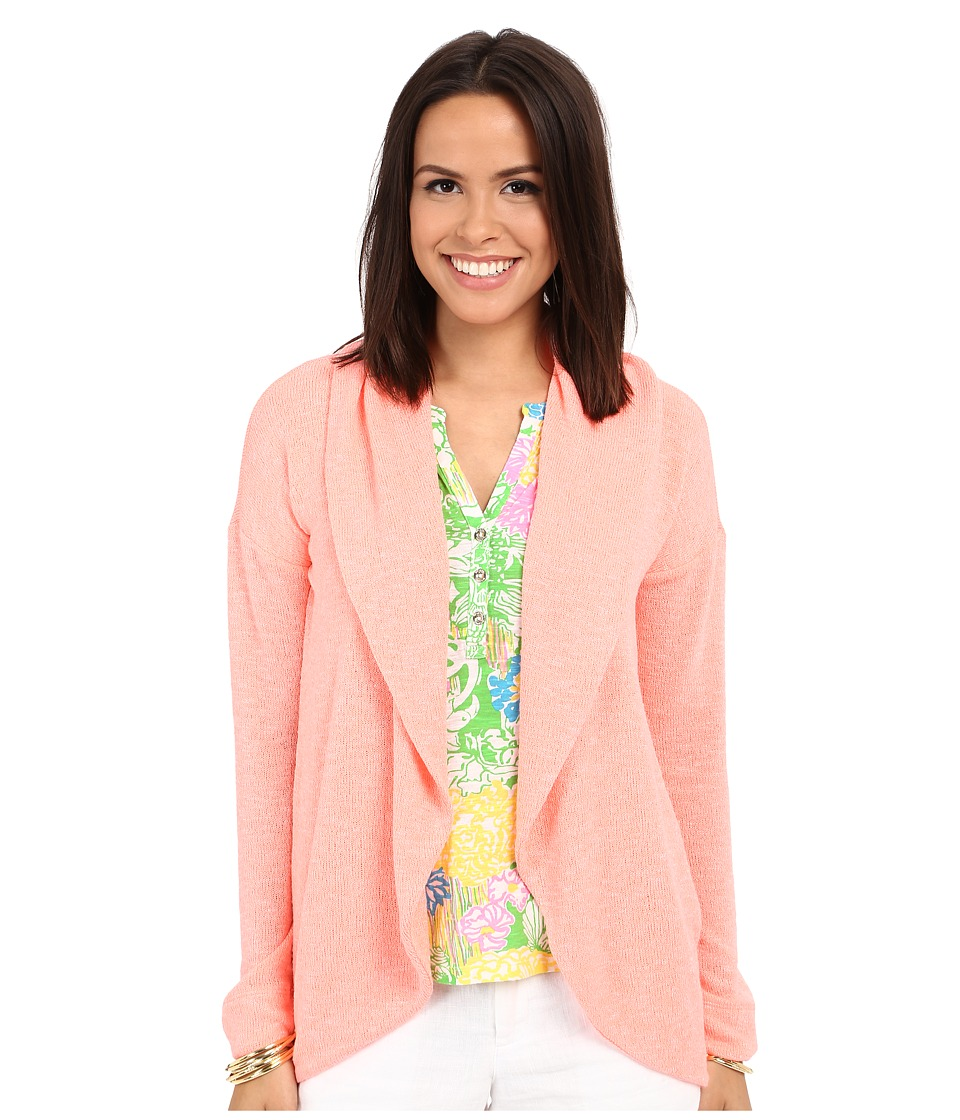 Lilly Pulitzer - Martha Cardigan (Peachy Pink) Women's Sweater