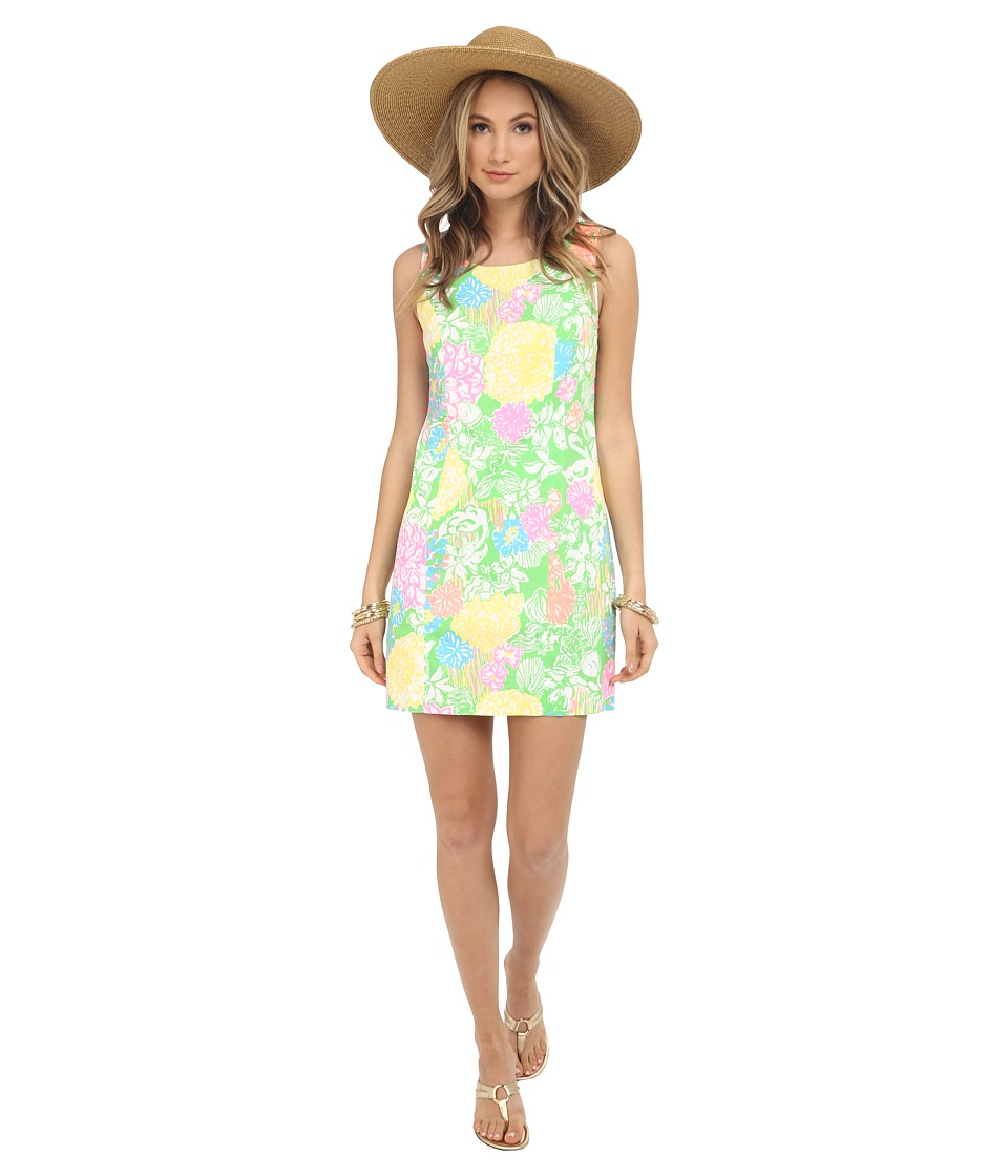 Lilly Pulitzer - Cathy Shift Dress (Multi Hibiscus Stroll) Women's Dress
