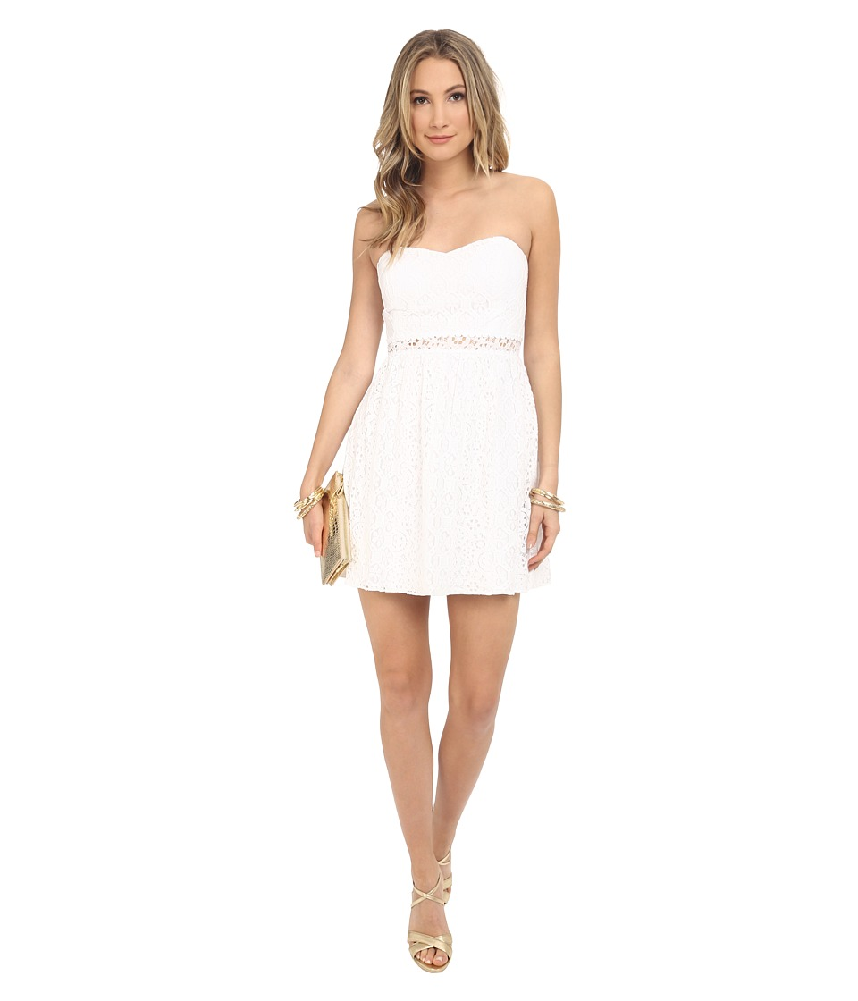 Lilly Pulitzer - Brett Dress (Resort White) Women's Dress