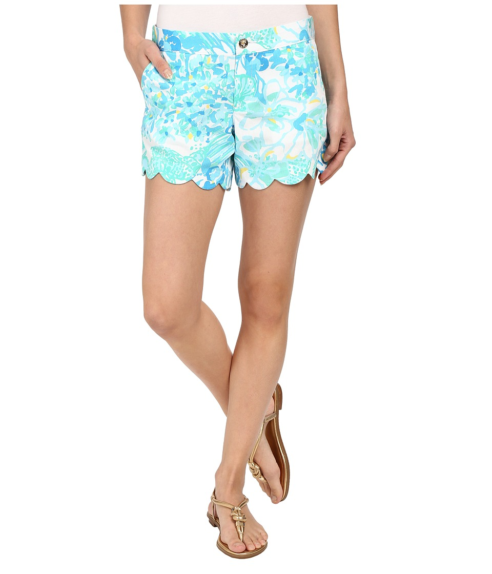 Lilly Pulitzer - Buttercup Shorts (Resort White In A Pinch) Women's Shorts