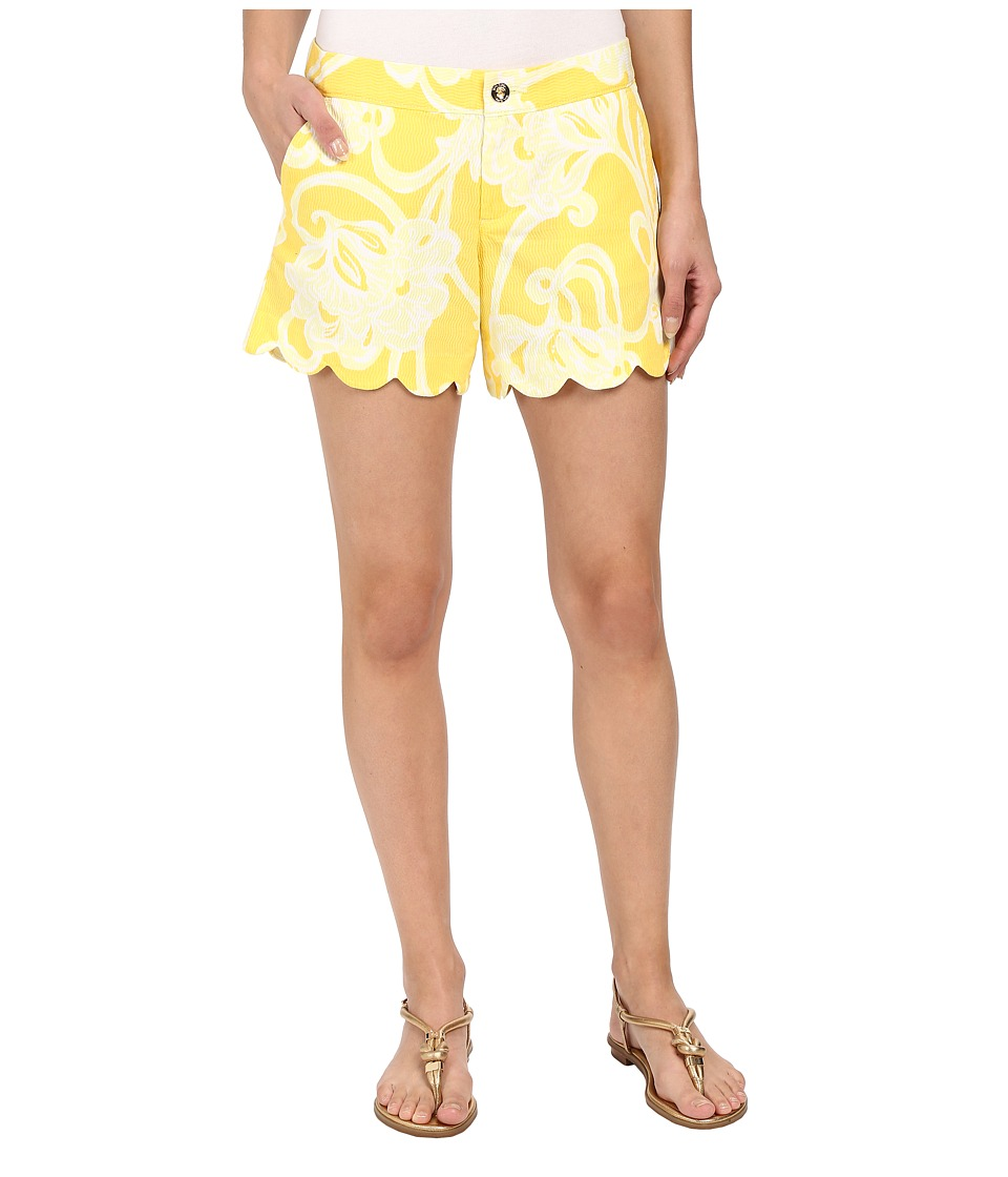 Lilly Pulitzer - Buttercup Shorts (Dandelion Yellow Banana Daiquiri) Women's Shorts
