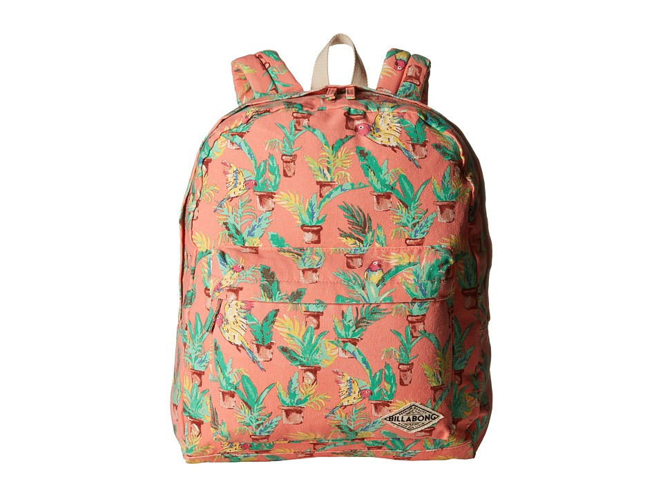 Billabong - Moonbound Peace Backpack (Melon) Backpack Bags