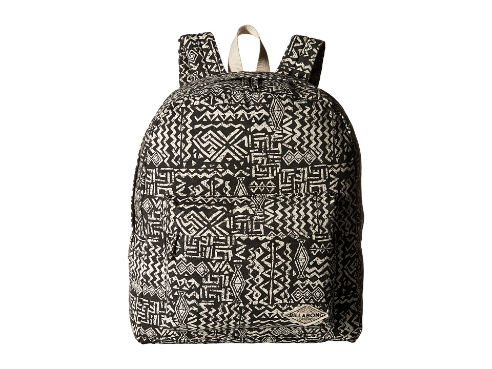 Billabong - Moonbound Peace Backpack (Off-Black) Backpack Bags