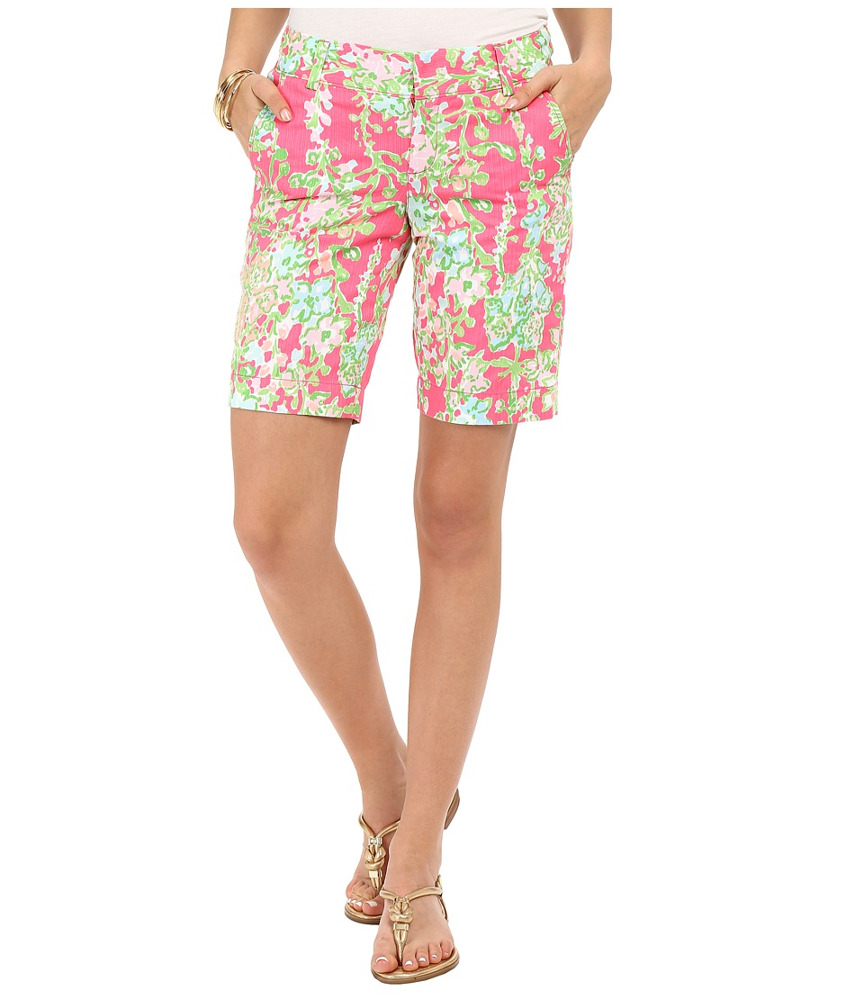 Lilly Pulitzer - Chipper Shorts (Flamingo Pink Southern Charm) Women's Shorts