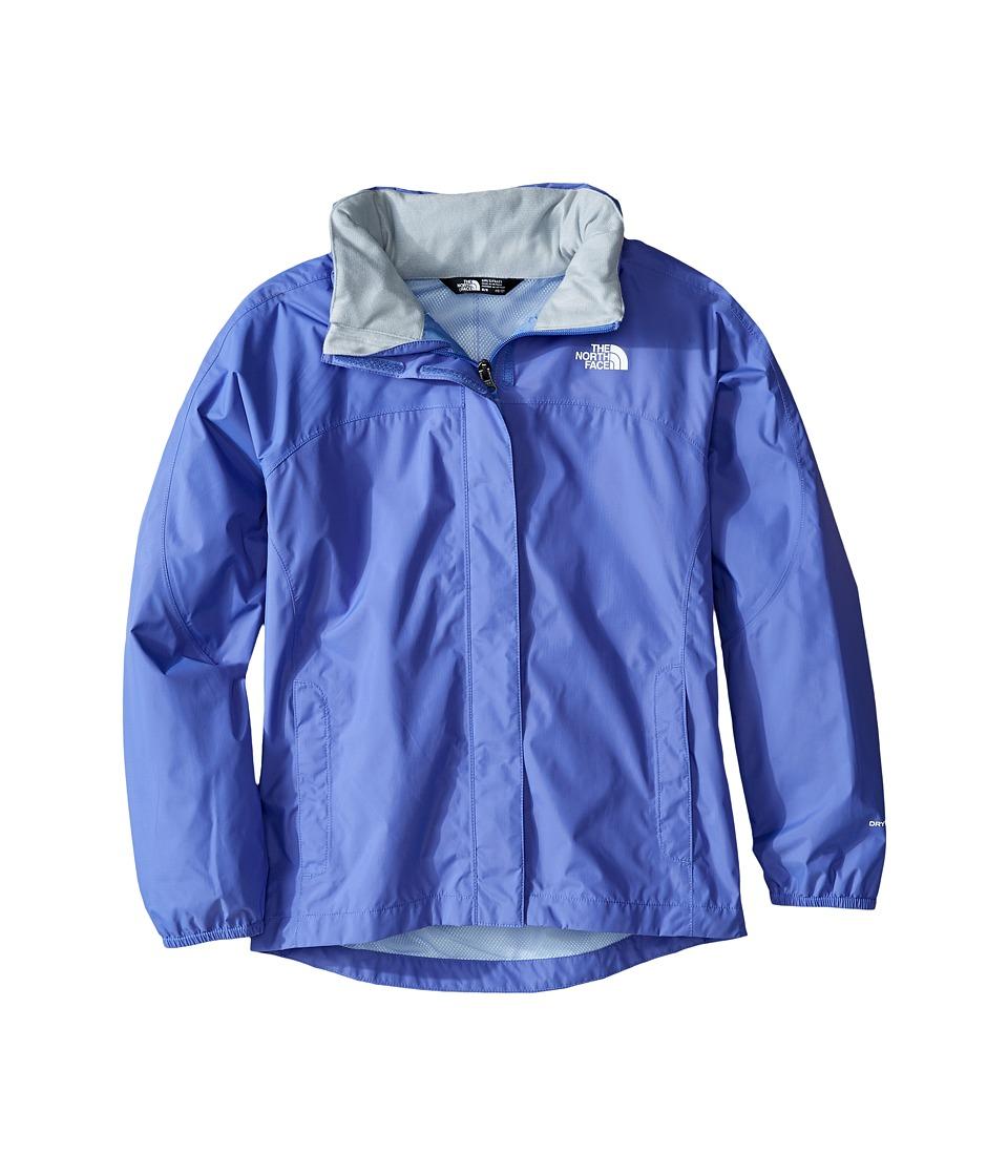 The North Face Kids Resolve Reflective Jacket (Little Kids/Big Kids) (Stellar Blue) Girl