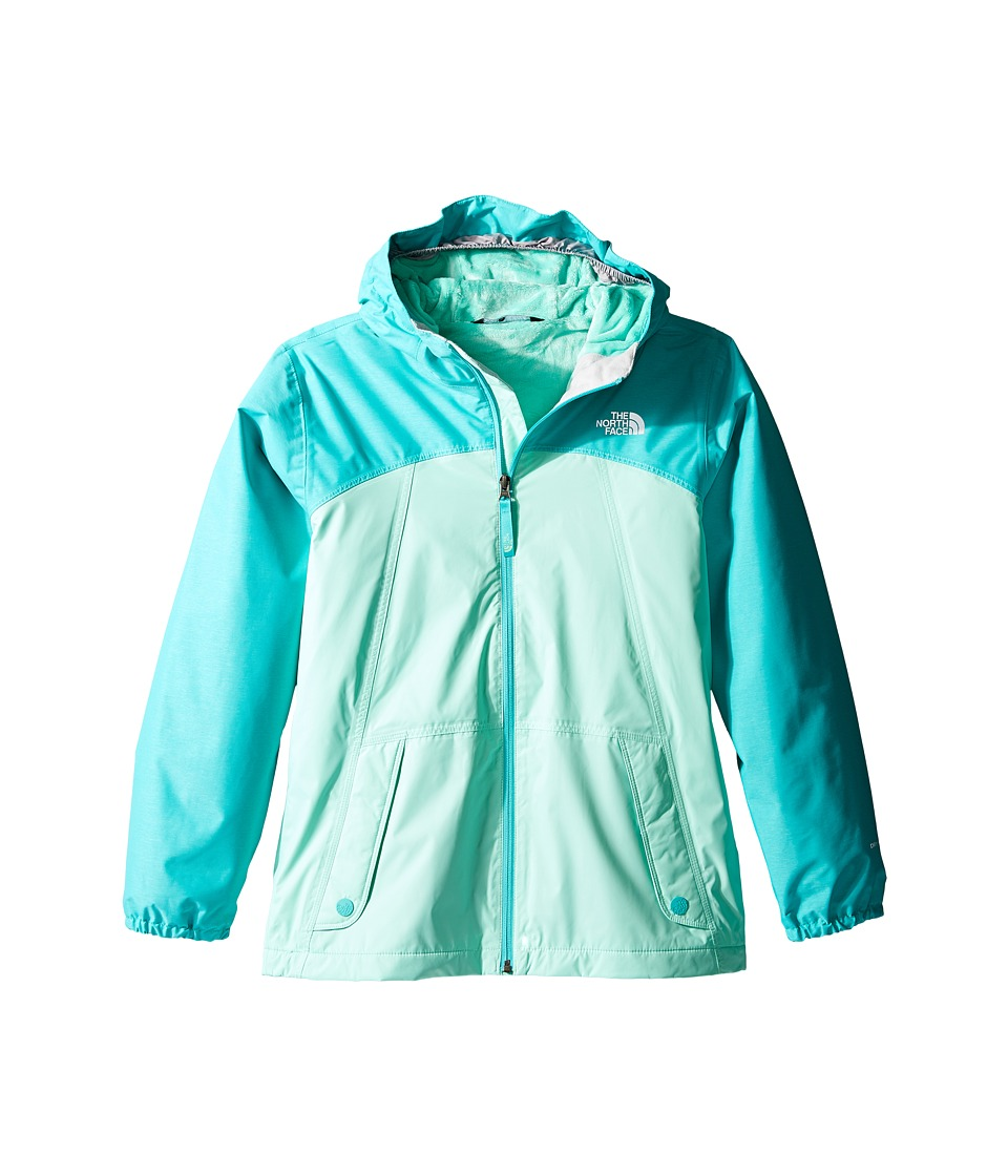 The North Face Kids - Warm Storm Jacket (Little Kids/Big Kids) (Ice Green) Girl's Coat