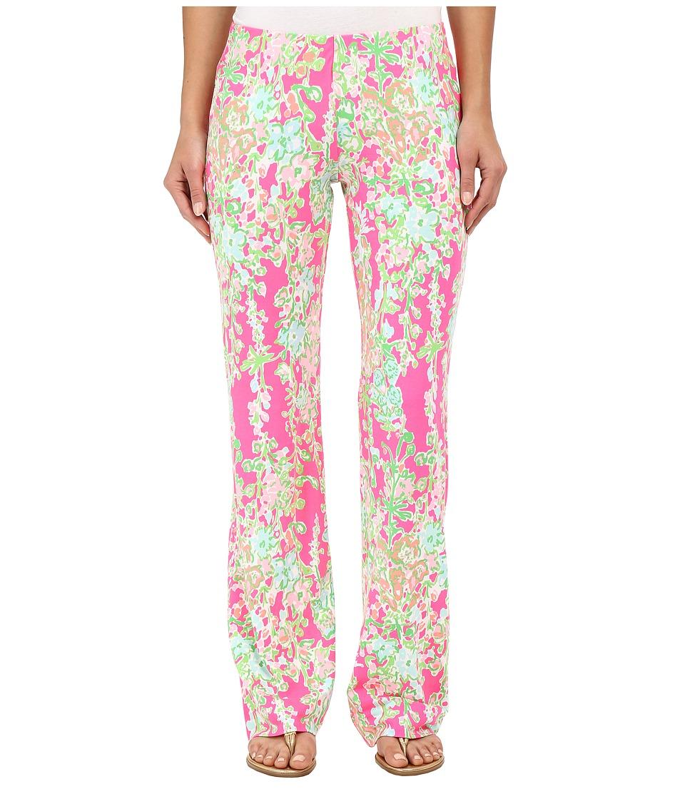 Lilly Pulitzer - Georgia May Palazzo Pants (Flamingo Pink Southern Charm) Women's Casual Pants