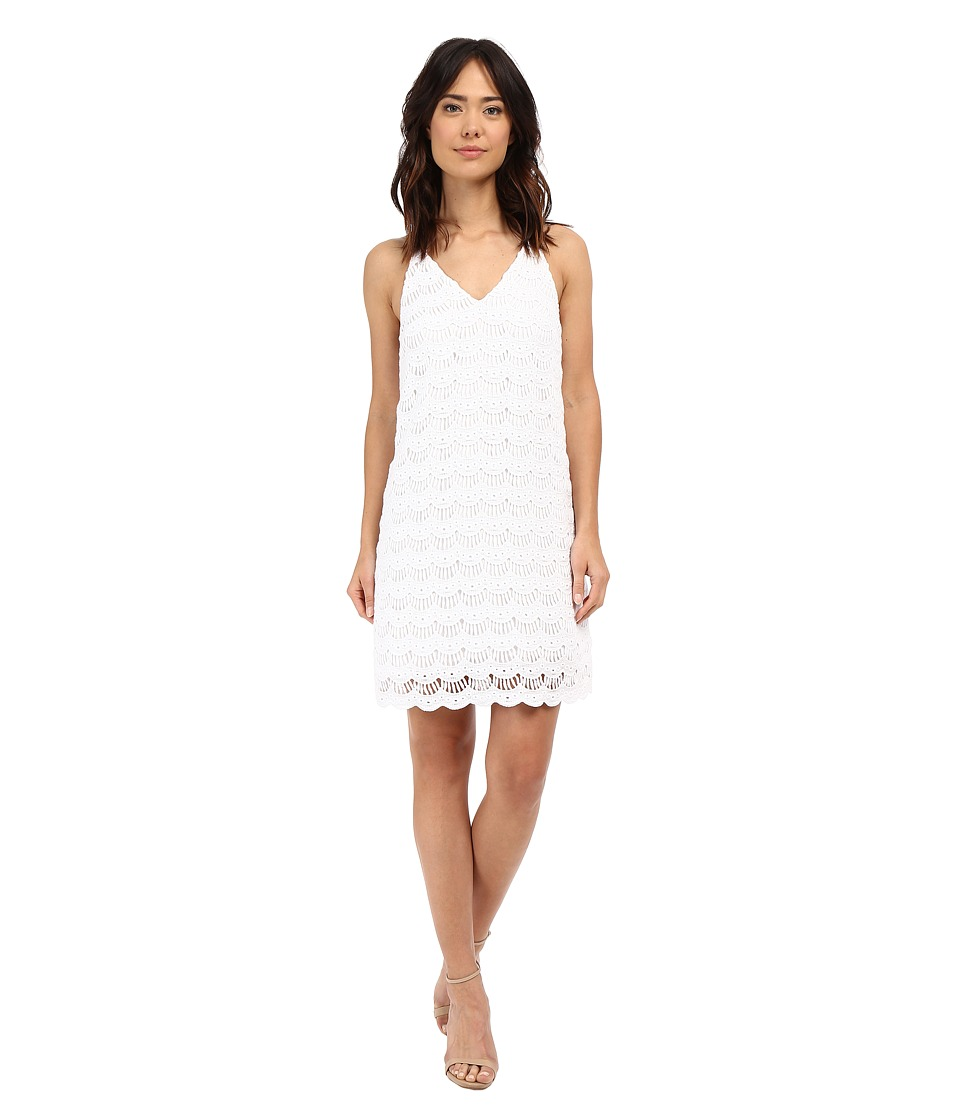 Lilly Pulitzer - Natalie Dress (Resort White Scallop Lace) Women's Dress