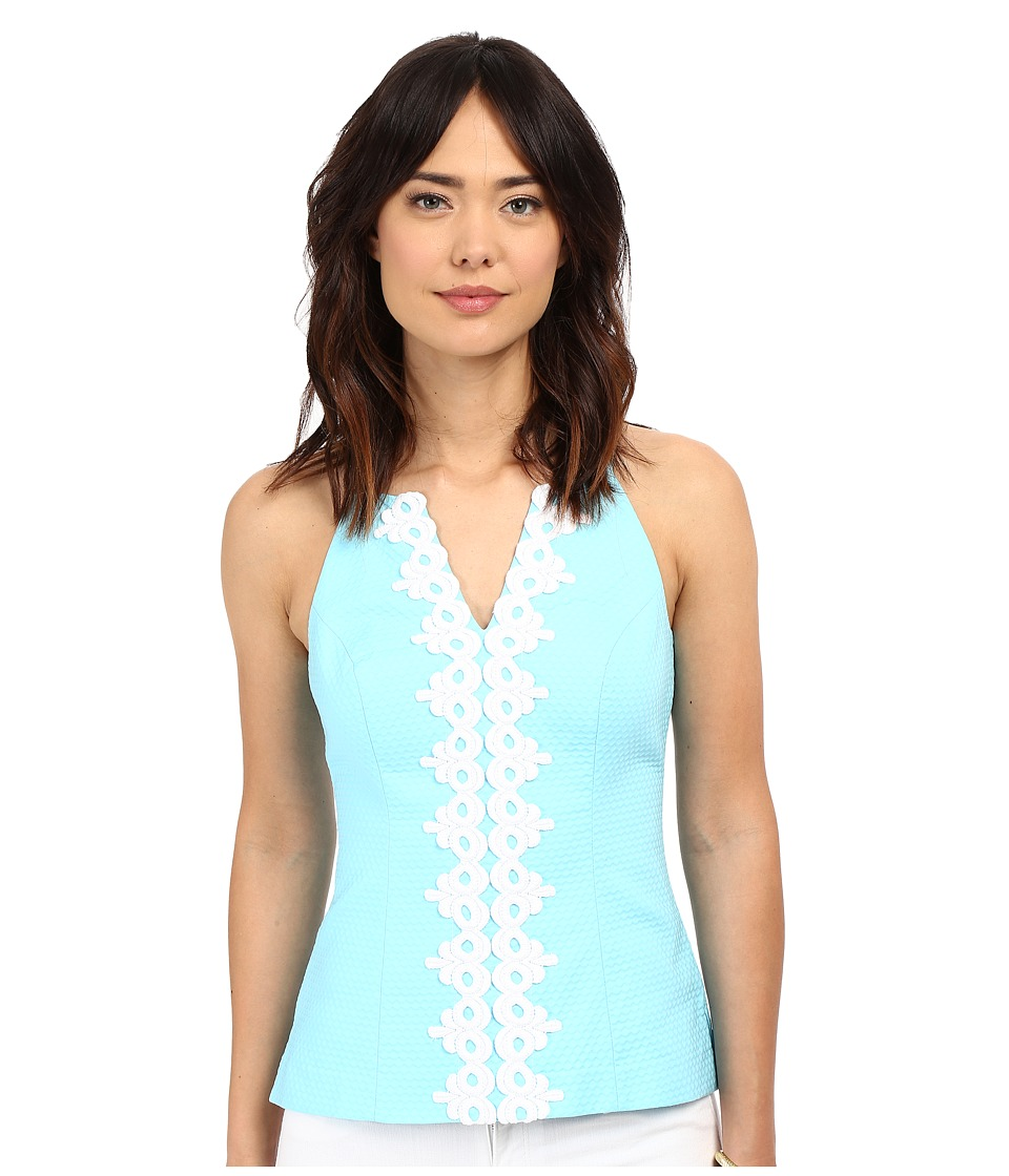 Lilly Pulitzer - Magnolia Top (Breakwater Blue) Women's Sleeveless
