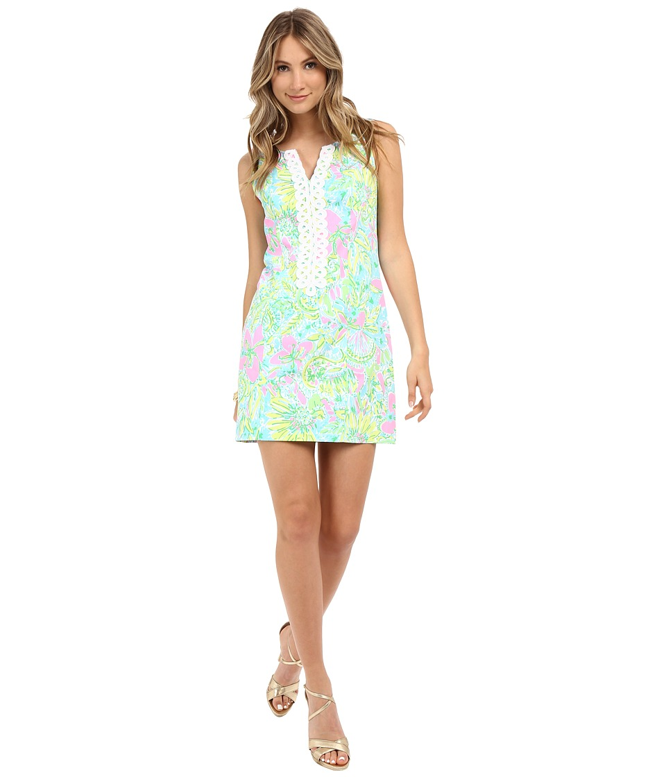Lilly Pulitzer - Cathy Shift Dress (Multi Coconut Jungle) Women's Dress