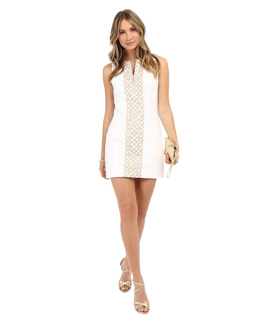 Lilly Pulitzer - Mila Shift Dress (Resort White) Women's Dress
