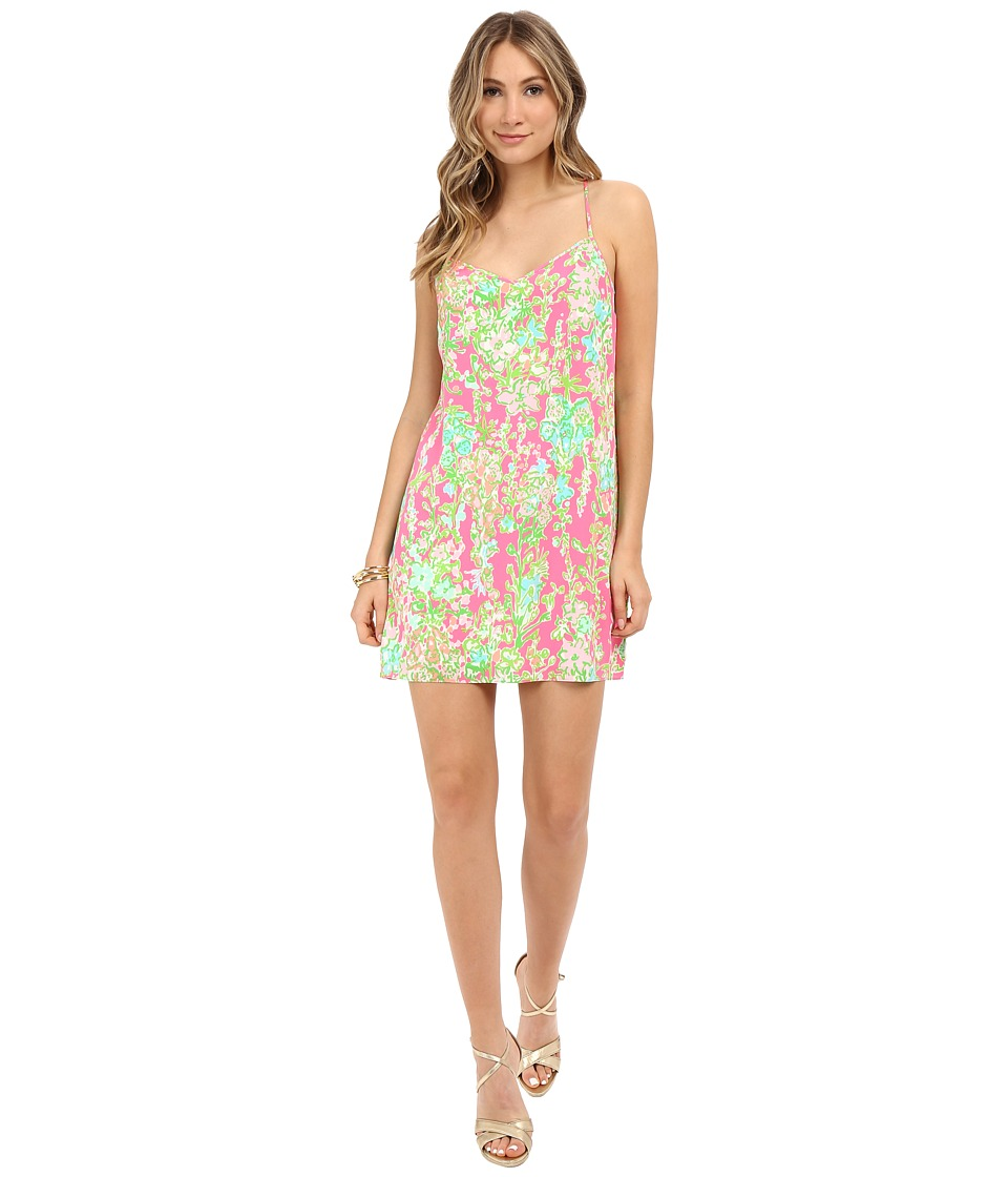 Lilly Pulitzer - Dusk Dress (Flamingo Pink Southern Charm) Women's Dress