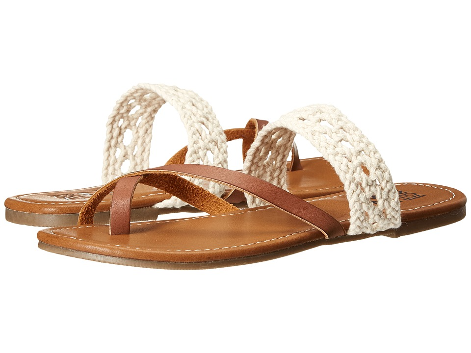 Billabong - Sandy Shorz (Desert Brown) Women's Sandals