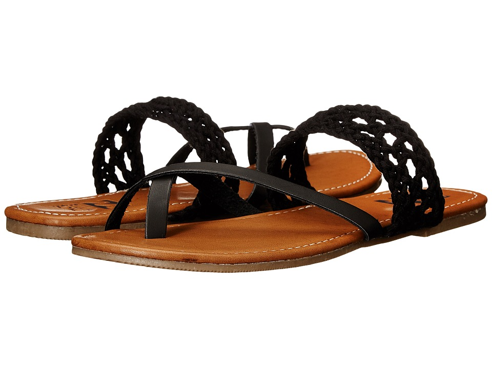 Billabong - Sandy Shorz (Off-Black) Women's Sandals