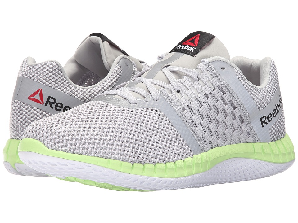 Reebok - ZPrint Run (Lumious Lime/Steel) Women's Running Shoes