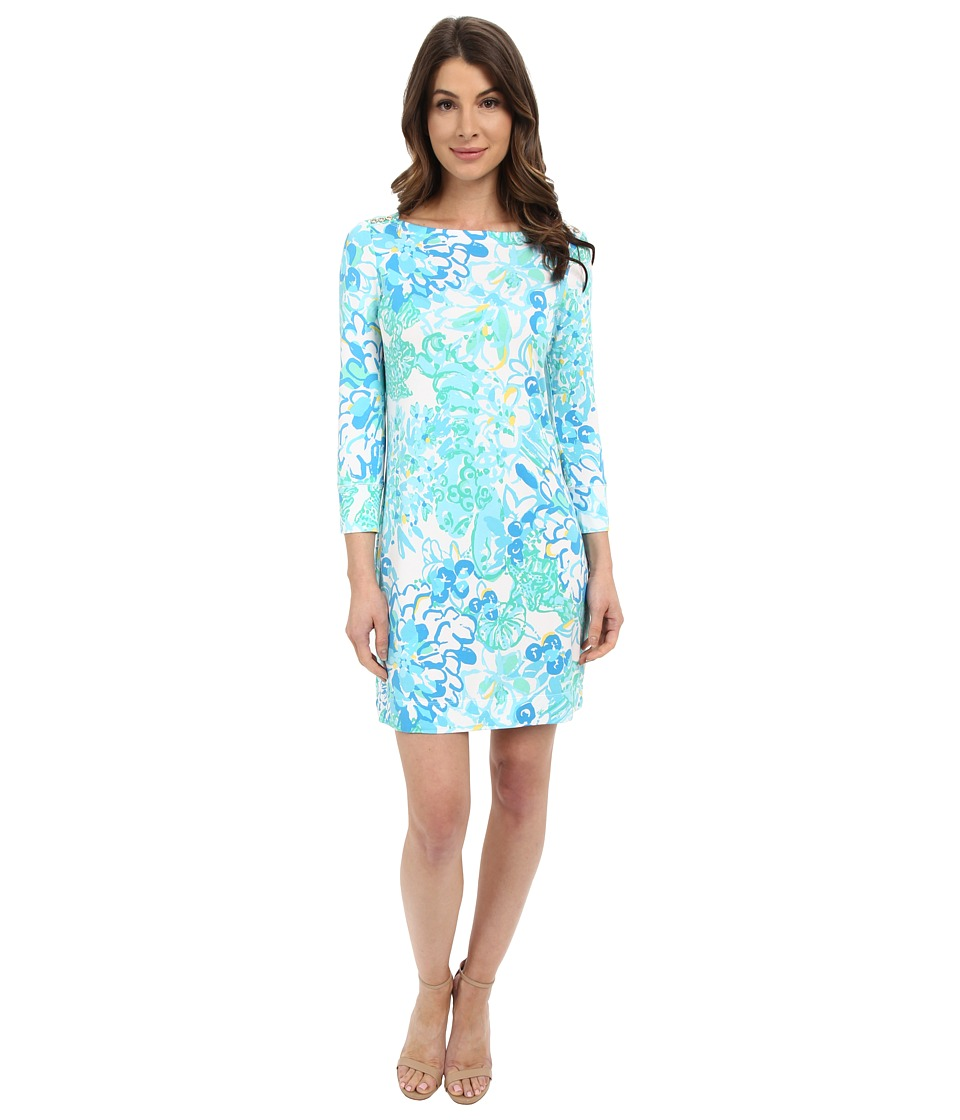 Lilly Pulitzer - UPF 50+ Sophie Dress (Resort White In A Pinch) Women's Dress
