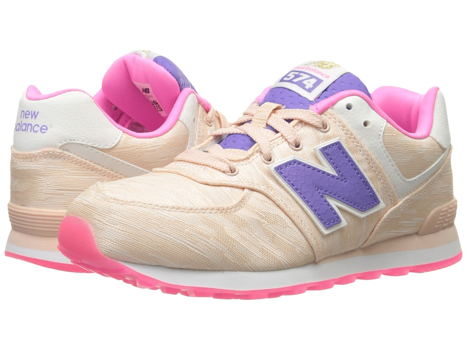 New Balance Kids - Summer Waves 574 (Big Kid) (Pink/Pink) Boys Shoes