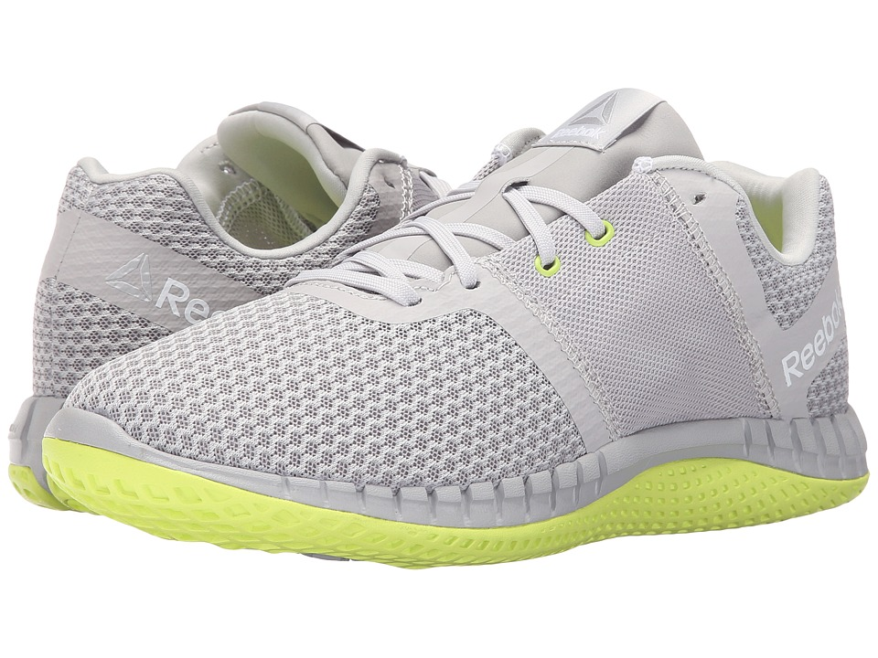 Reebok - ZPrint Run EX (Steel Carbon/White/Solar Yellow) Women's Shoes