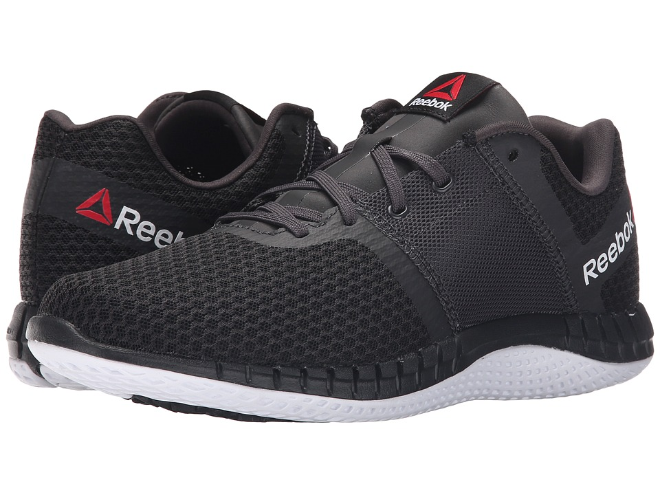 Reebok - ZPrint Run EX (Ash Grey/Black/White) Women's Shoes