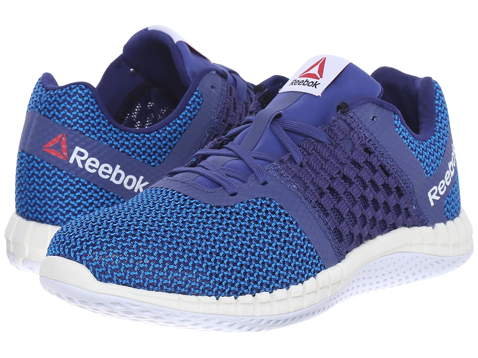 Reebok - ZPrint Run (Night Beacon/Electric Blue/Chalk/White) Women's Running Shoes