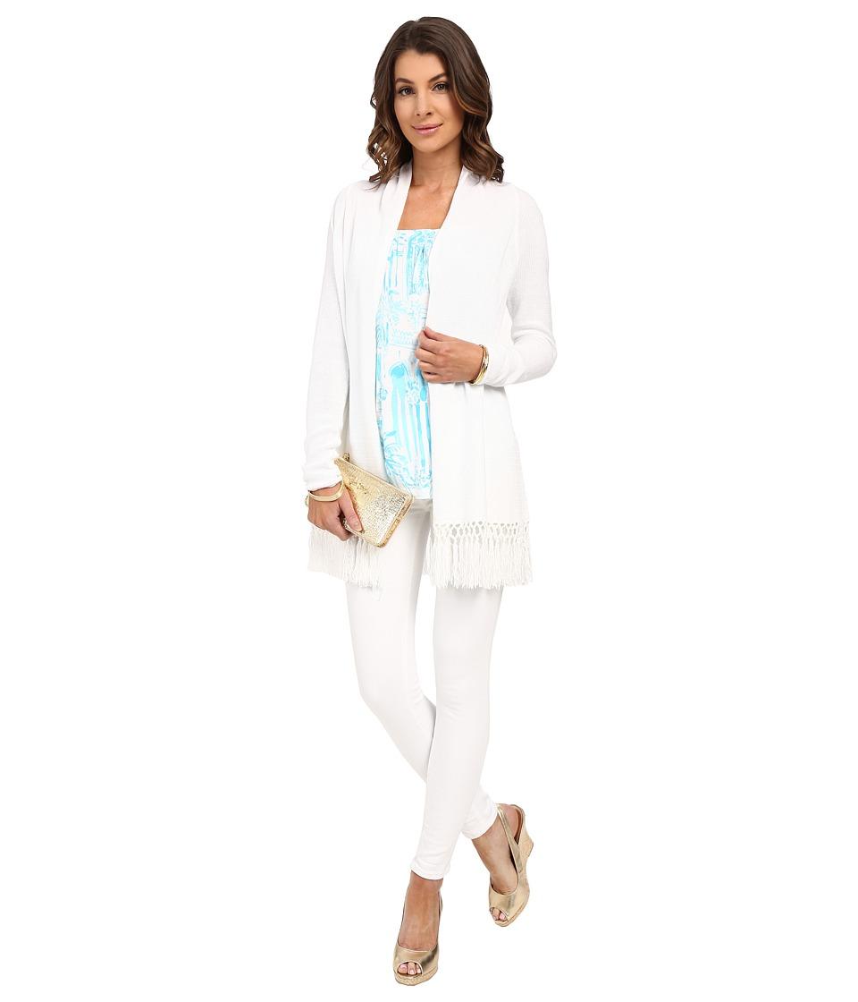 Lilly Pulitzer - Tatum Cardigan (Resort White) Women's Sweater