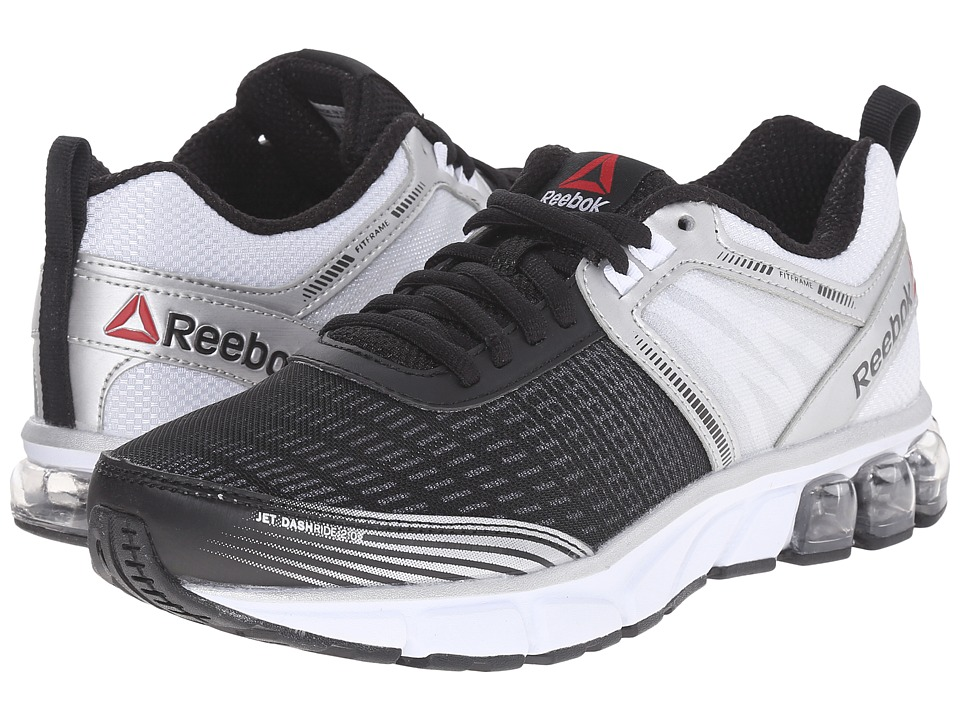 Reebok - Jet Dashride 2.0 (Black/White/Silver Metallic/Steel) Women's Running Shoes