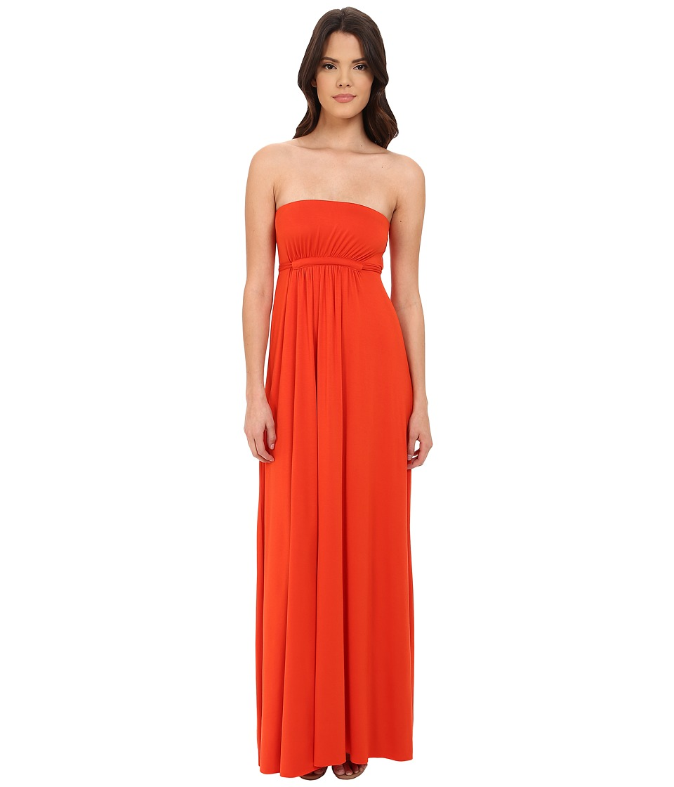 Rachel Pally Strapless Caftan Dress