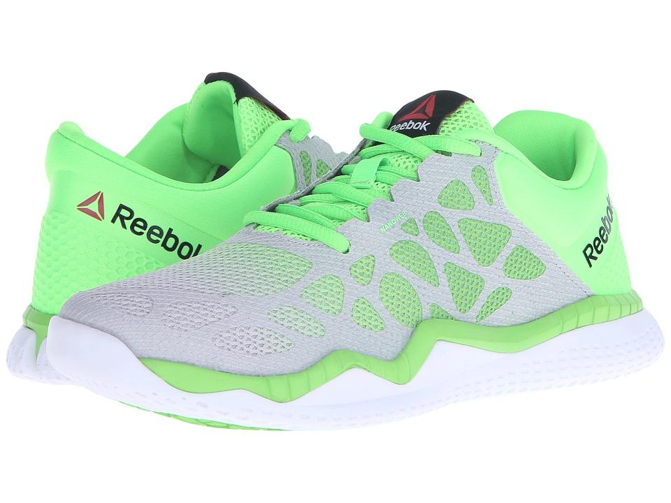 Reebok - ZPrint Train (Steel/Solar Green/White) Women's Cross Training Shoes