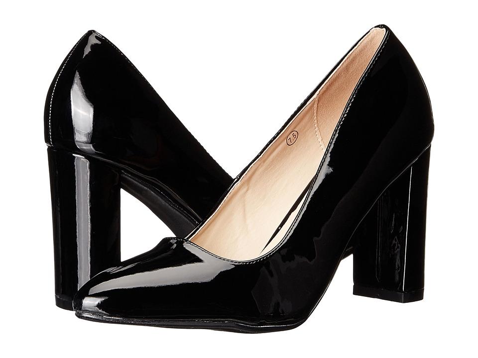 C Label - Lychee-1 (Black) High Heels
