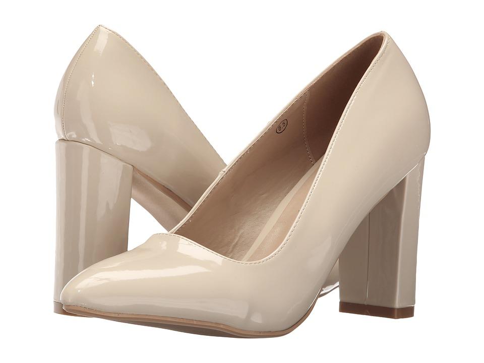 C Label - Lychee-1 (Beige) High Heels