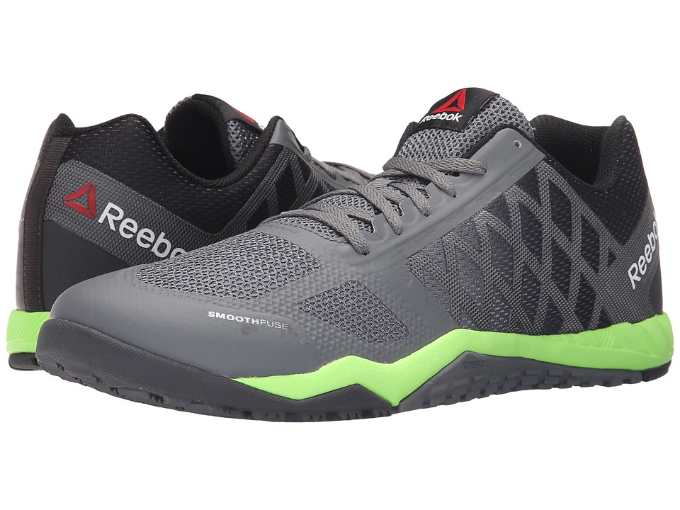 Reebok - Ros Workout TR (Alloy/Coal/Solar Green/Black/White) Men's Cross Training Shoes