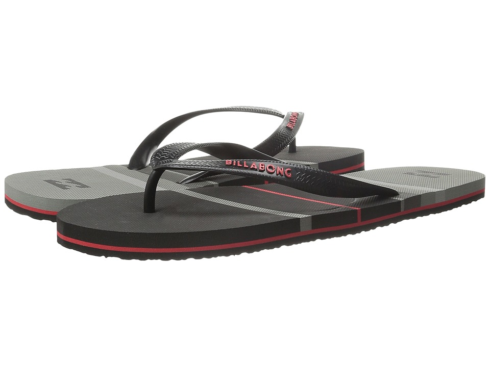 Billabong - Spin Thong Sandal (Black) Men's Sandals