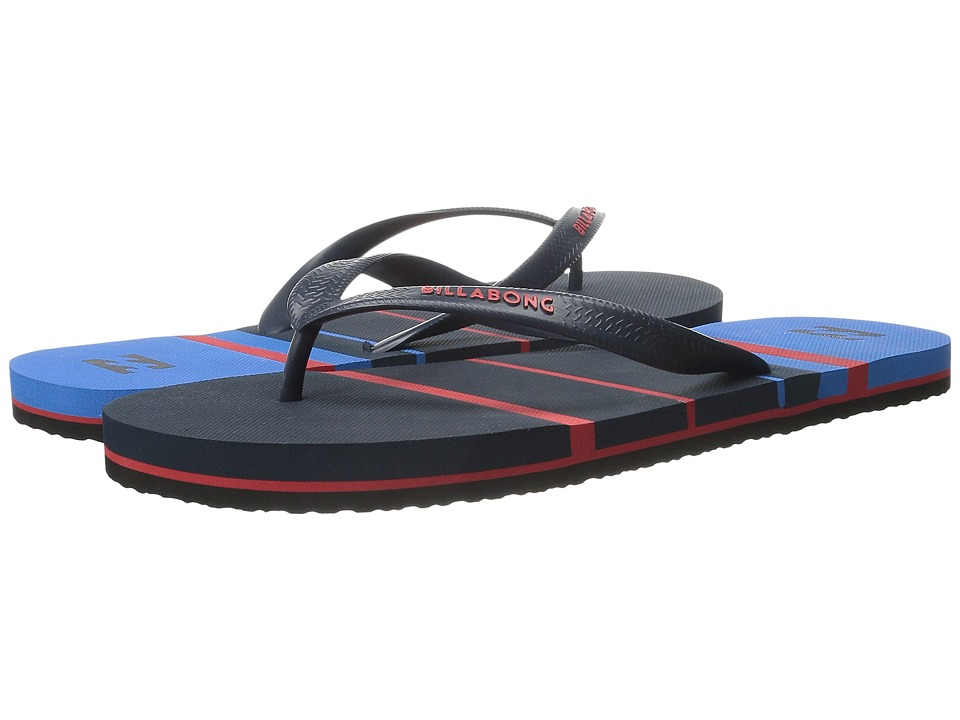 Billabong - Spin Thong Sandal (Indigo) Men's Sandals