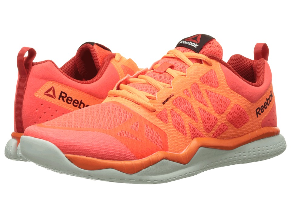 Reebok - ZPrint Train (Atomic Red/Electric Peach/Motor Red/Opal/Black) Men's Cross Training Shoes