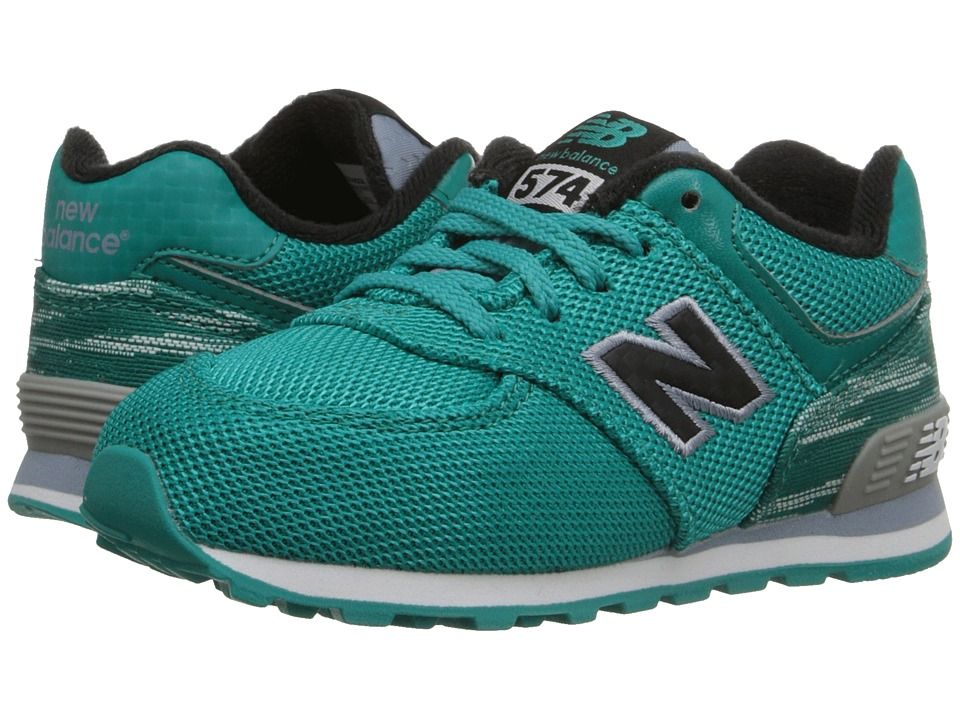 New Balance Kids - Summer Waves 574 (Infant/Toddler) (Blue/Blue) Boys Shoes