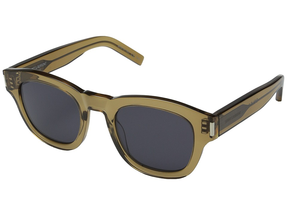 Saint Laurent - Bold 2 (Opale Olive/Grey) Fashion Sunglasses