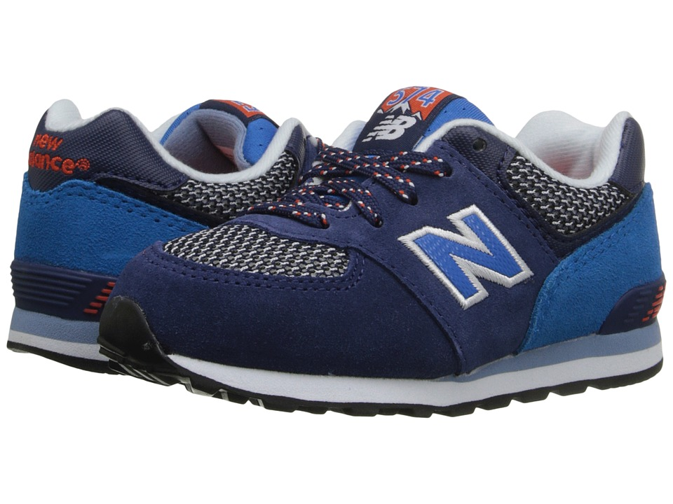 New Balance Kids - Summit 574 (Infant/Toddler) (Blue/Blue) Boys Shoes