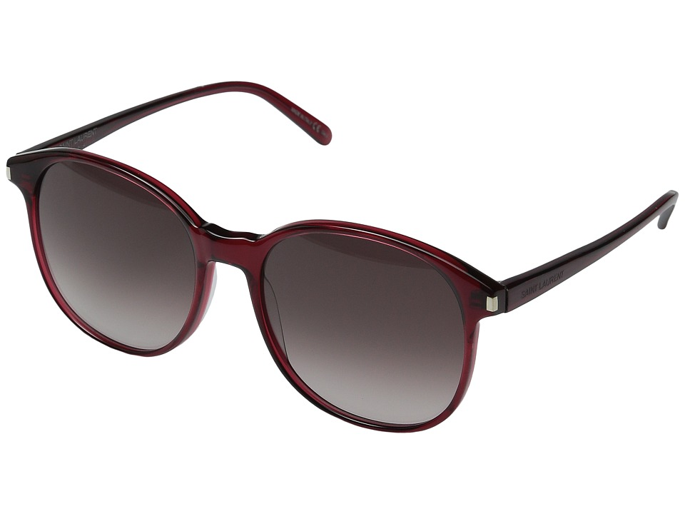 Saint Laurent - SL 95 (Bordeaux/Bordeaux Gradient) Fashion Sunglasses