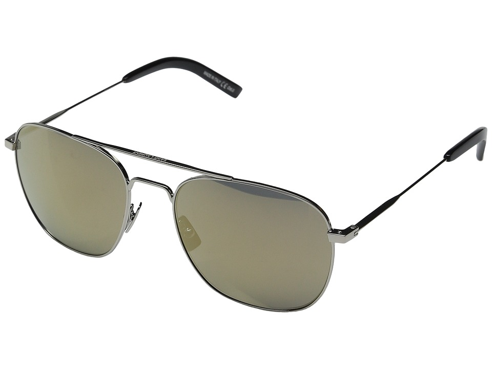 Saint Laurent - SL 86 (Palladium/Super Bronze) Fashion Sunglasses