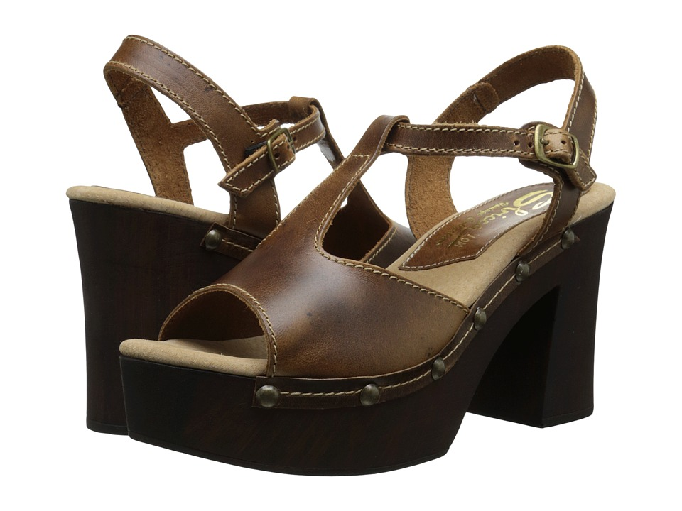 Sbicca - Biscayne (Camel) Women's Toe Open Shoes