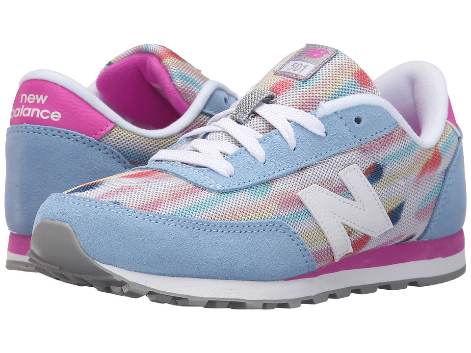 New Balance Kids - State Fair 501 (Little Kid/Big Kid) (Blue/Purple) Girls Shoes