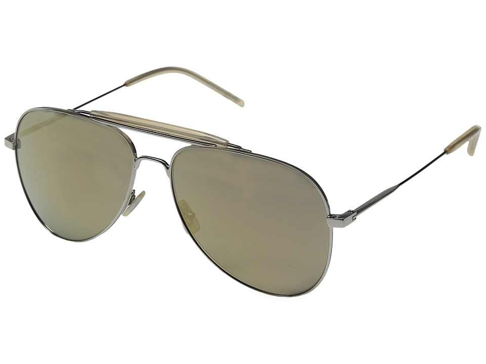 Saint Laurent - SL 85 (Palladium/Super Bronze) Fashion Sunglasses